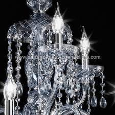 cimabue crystal chandelier smoke 6 3 lights asfour crystal