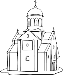Small Picture church pictures to color church coloring page eassume free