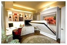 office murphy bed. Murphy Bed Office Wall And Home Basement Combo