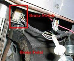 brake controller installation starting from scratch etrailer com brake switch wires located above the brake pedal