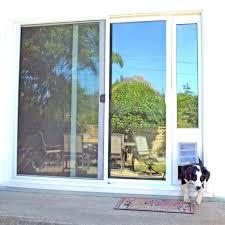 idea patio dog door and medium image for sliding door with pet door power pet electronic fresh patio dog door
