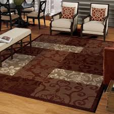 red and brown area rugs elegant home design clubmona lovely round modern dark of x