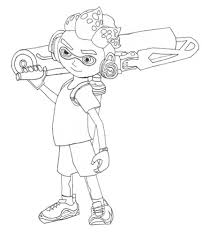 Best 2 9 Splatoon2 Coloring Page Coloring Book Arenda Stroy