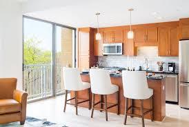 luxury apartments kitchen. kitchen view in park van ness luxury apartments washington dc
