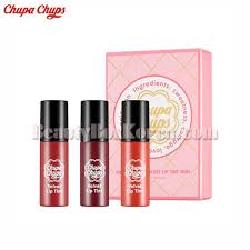 <b>CHUPACHUPS Velvet Lip</b> Tint Miniature Trio[Limited Edition] | Best ...