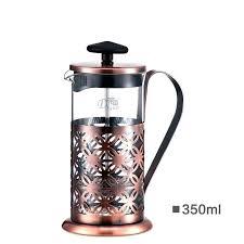 12 oz french press detail chrome premium coffee and tea maker small ml