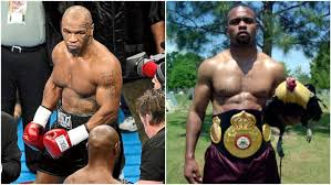 Mike tyson and roy jones jr will be competing for the wbc frontline battle belt, i'm told. Ezskyiogyv0zpm