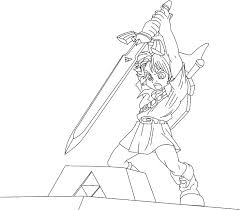 Video Game Character Coloring Pages Characters Colouring Video Game