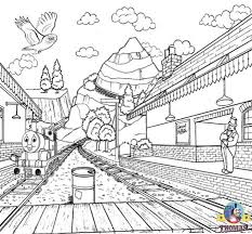 Select from 35450 printable coloring pages of cartoons, animals, nature, bible and many more. Railway Station Coloring Pages To Print And Color