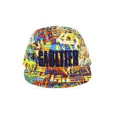 Designer Caps India Junior Gaultier Boys Graffiti Print Cap Boys Designer Hats