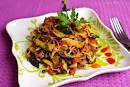 Праздничные блюда из баклажанов фото с ом