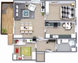 2 bedroom small house plans under 1000 sq ft 3d designs with patio