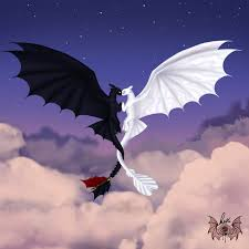 Pictures Of Toothless And The Light Fury Toothless And The Light Fury Desenho Do Banguela