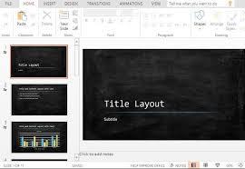 Chalkboard Powerpoint Background Widescreen Chalkboard Powerpoint Template