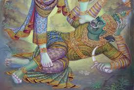 ชมชัดๆ ภาพสุดวิจิตรฉากบังเพลิงประดับพระเมรุมาศ ร.9 (ประมวลภาพ) | ศิลปกรรม,  ศิลปะไทย, ภาพวาด