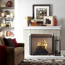 vent free gas logs fireplace