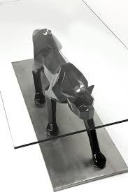 coffee table black cat