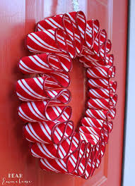 Craft Beaded Candy Cane And Wreath Christmas OrnamentsCandy Cane Wreath Christmas Craft