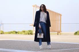 Blue Coat Navy Blue Coat Jeans Ootd Stella Asteria