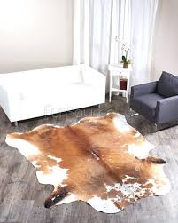 big cowhide rugs cream rug small cow skin intended for cattle nz
