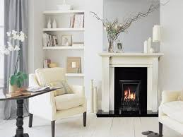 image of fireplace mantel decorating ideas with tv above