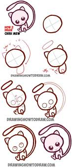 Cute Easy Designs Cute Easy Designs To Draw How Baby Chibi Mew From Rhwapous