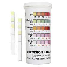 Aquarium Test Strips 5 Pad Precision Laboratories