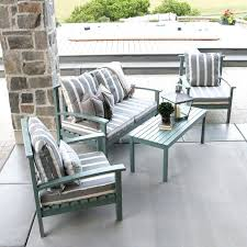 enchanting wood patio chairs 4 piece acacia set with cushion wooden outdoor canada furniture