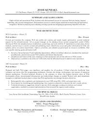 Resume Format Example Architecture Sample If You Want To Get An Job ...