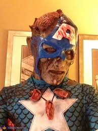 zombie captain america costume