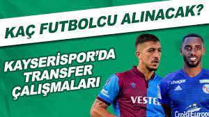 Kayserispor'da transfer çalışmaları | Kaç futbolcu alınacak? - YouTube