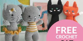 Free Crochet Cat Patterns Simple Free Crochet Cat Patterns Crochet Now