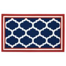 light blue trellis area rug navy