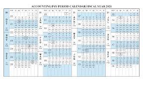 Payroll Calendar 2021 Fiscal Year Calendar Oct 2020 Sep