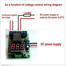voltage control relay timer delay switch overvoltage under voltage  voltage control relay timer delay switch overvoltage under voltage protection in relays from home improvement on com alibaba group