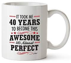 40th birthday gifts for women forty years old men gift happy funny 40 mens womens womans