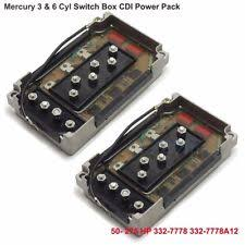 mercury switch box outboard engines components mercury 3 6 cyl switchbox cdi power pack 50 275 hp v 135