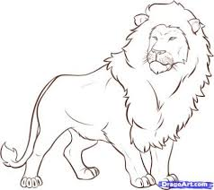 easy lion drawings in pencil. Wonderful Drawings Simple Lion Drawings In Pencil With Easy Pinterest