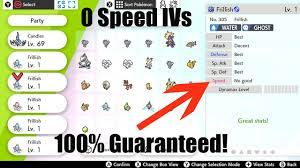 HOW TO BREED FOR 0 IVs IN POKEMON SWORD AND POKEMON SHIELD - YouTube