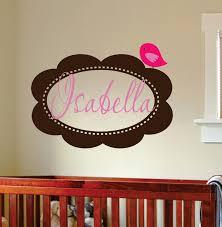 vinyl decal nursery name sign childrens