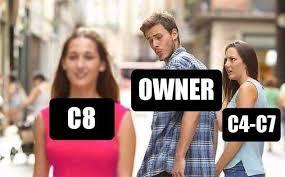 Image result for Mid Engine Corvette meme