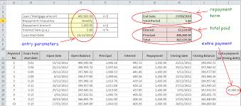 mortgage amortization comparison calculator deferred payment loan calculator excel ender realtypark co