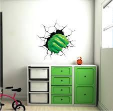quick view superhero wall decals india green fist smash decal p custom flash superhero font name wall decal