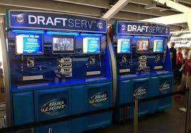 Beer Vending Machine Usa Unique Selfserve Beer Machines Have Arrived In Major League Baseball For