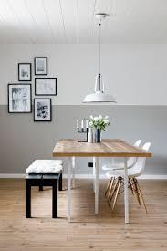 Esszimmer Im Skandinavischen Stil Wandgestaltung Wohnung