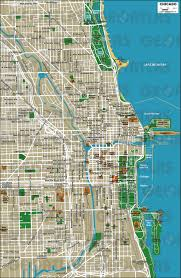 geoatlas  city maps  chicago  map city illustrator fully