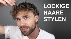 Locken Machen Männer Haarstyling Tutorial Für Männer Mit Locken Daniel Korte
