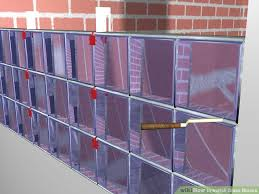 image titled install glass blocks step 7