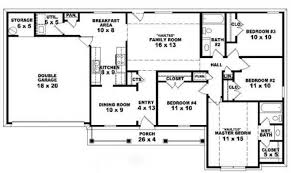 open floor plan house plans one story