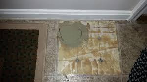 patching hole in vinyl flooring